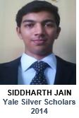 Siddharth Yale Silver Scholars