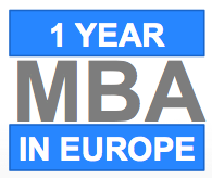 One year MBA programs in Europe
