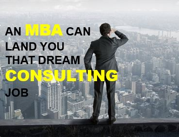 CONSULTING AFTER MBA