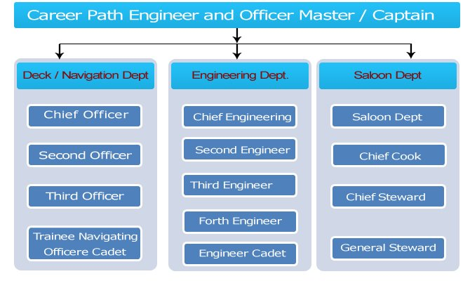 Merchant Navy career paths