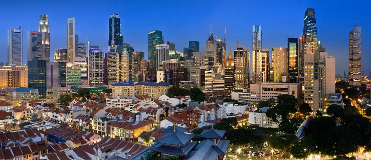Singapore is considered the hub of Asian business