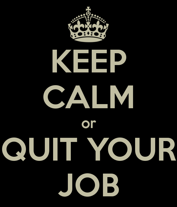 Dont quit your job for the GMAT
