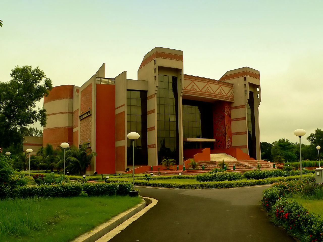 IIM Calcutta has a beautiful campus too
