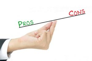 Pros and cons of case study